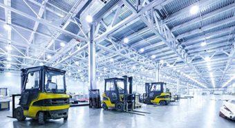Giải pháp chiếu sáng công nghiệp